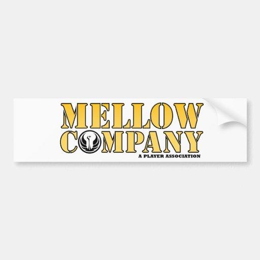 Basic Mellow Bumper Sticker Car Bumper Sticker