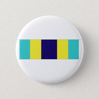 Basic Military Training Honor Graduate Ribbon Pinback Button