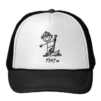 Basic Miner T-shirts and Gifts Trucker Hat