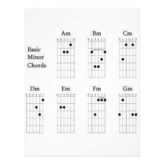 Basic Minor Chords Flyer