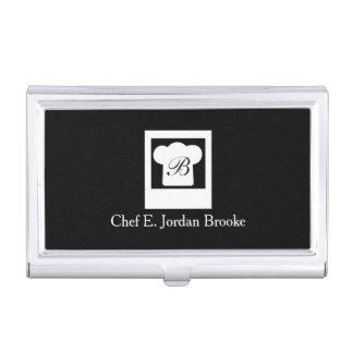 Basic Modern Chef Business Card Case