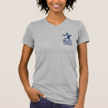Basic Navy logo and website T-shirts