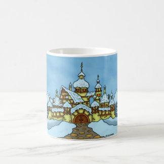basic northpole holiday mug