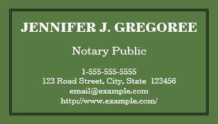 Notary public business cards zazzle basic notary public business card reheart Gallery