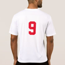 Basic Numbered T-Shirt For Team Players