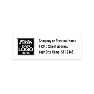 Basic Office or Business Address Label Rubber Stamp