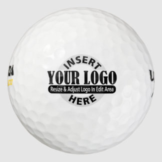 Basic Office or Business Logo Notes Golf Balls