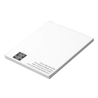 Basic Office or Business Logo Notes Memo Pads