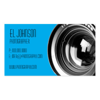 Basic Photography Business Card (Cotton Candy)