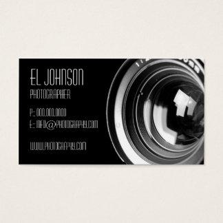 Basic Photography Business Card (Noir)