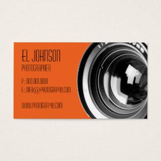 Basic Photography Business Card (Orange Peel)