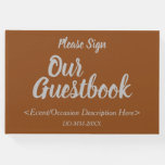 [ Thumbnail: Basic & Plain Generic Event Guest Book ]