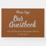[ Thumbnail: Basic & Plain Generic Event Guest Book ]