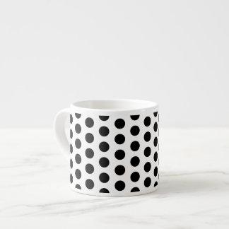 Basic Polka Dots Modern Pattern 6 Oz Ceramic Espresso Cup