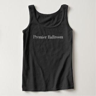 Basic Premier Ballroom Tank Top- Black