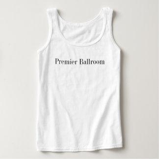 Basic Premier Ballroom Tank Top- White