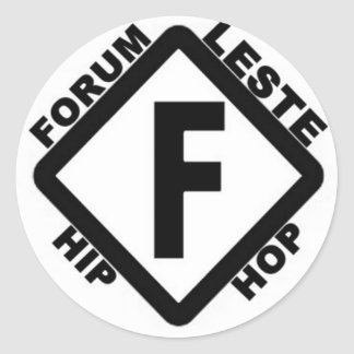 basic products of utility forum east classic round sticker