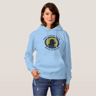 Basic Pullover Hoodie: Science Smart Cavewoman