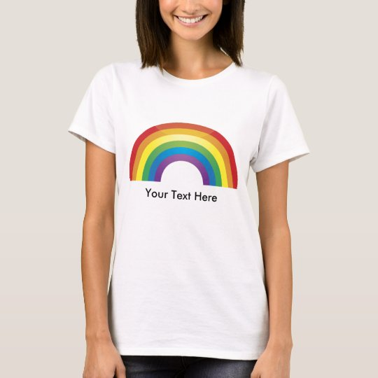 Basic Rainbow Tees - Custom, Personalized
