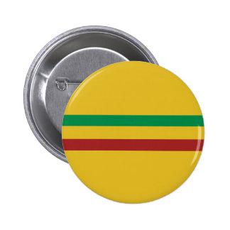 Basic Rasta Stripes Button