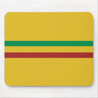 Basic Rasta Stripes Mouse Pad