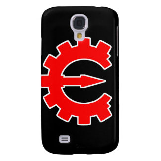 Basic Red Logo Samsung Galaxy S4 Cases