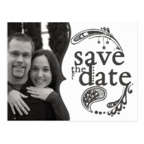 Basic Save the Date Postcard