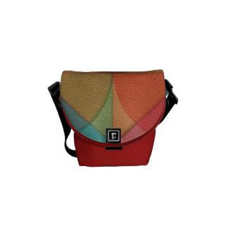 Basic shapes courier bag