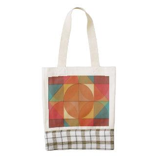 Basic shapes zazzle HEART tote bag