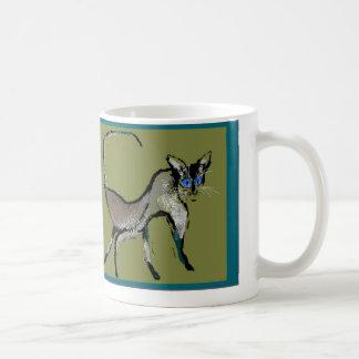 Basic Siamese Coffee Mugs