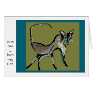 Basic Siamese Greeting Cards