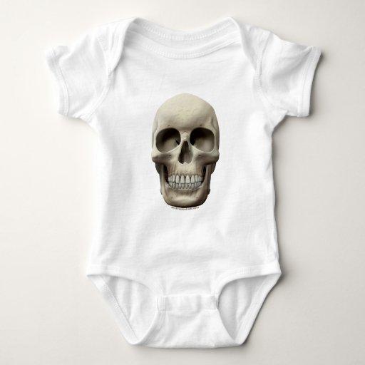 Basic Skull Baby Bodysuit