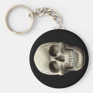 Basic Skull Keychain