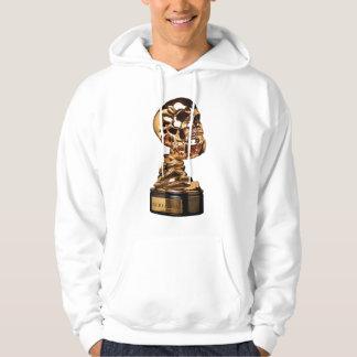 Basic Skully/Screamfest Design Hooded Sweatshirt