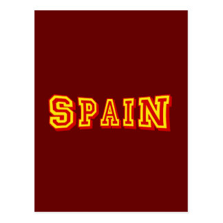 Basic Spain Logo Artwork Tees and gifts Postcard