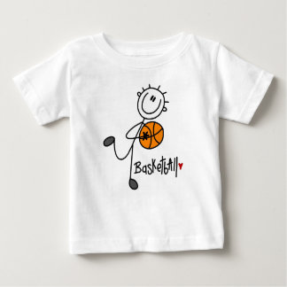Basic Stick Figure Basketball T-shirts and Gifts