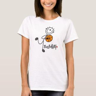Basic Stick Figure Basketball T-shirts and Gifts