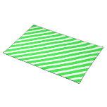 Basic Stripe 1 Green Placemat