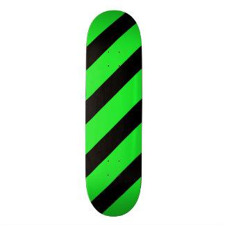 Basic Stripe 1 Green Skateboard Deck
