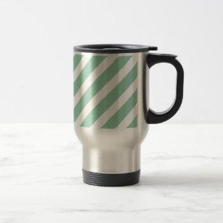 Basic Stripe 1 Hemlock Coffee Mugs