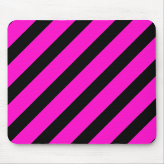 Basic Stripe 1 Pink Mouse Pad