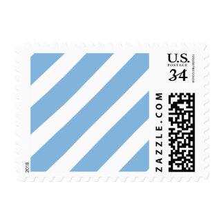 Basic Stripe 1 Placid Blue Stamp