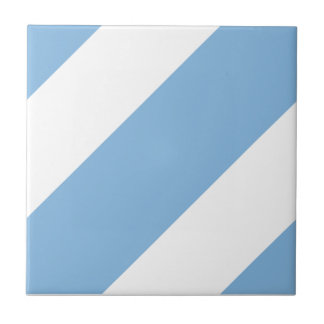 Basic Stripe 1 Placid Blue Tiles
