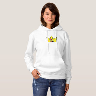 Basic Suéter with feminine pointed hood - Hoodie