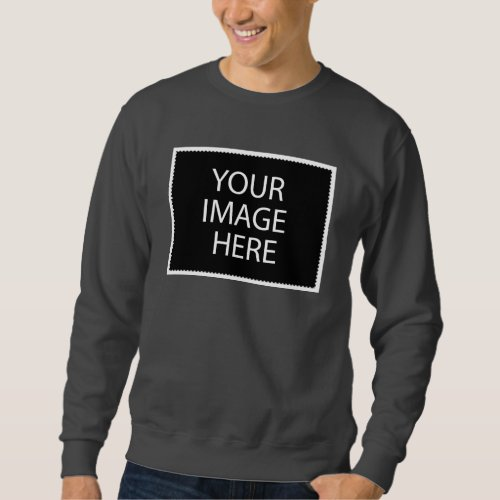 Basic Sweatshirt Dark Grey Sweatshirt