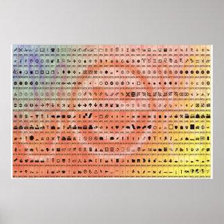 Basic Symbols Posters