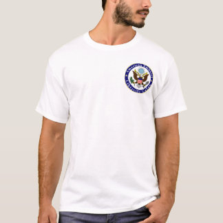 Basic t-shirt; Emb LBV; 2 signs, border, no text T-Shirt