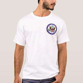 Basic t-shirt; Emb STP; We deserve danger pay T-Shirt