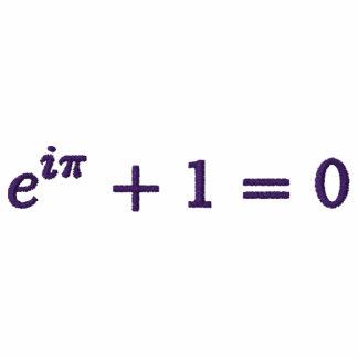 Basic T-Shirt: Euler's identity small, purple