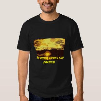 Basic T-Shirt, My Body Loves Sun Energy Tee Shirts